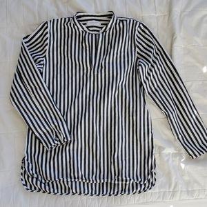 Everlane Striped Popover Tunic